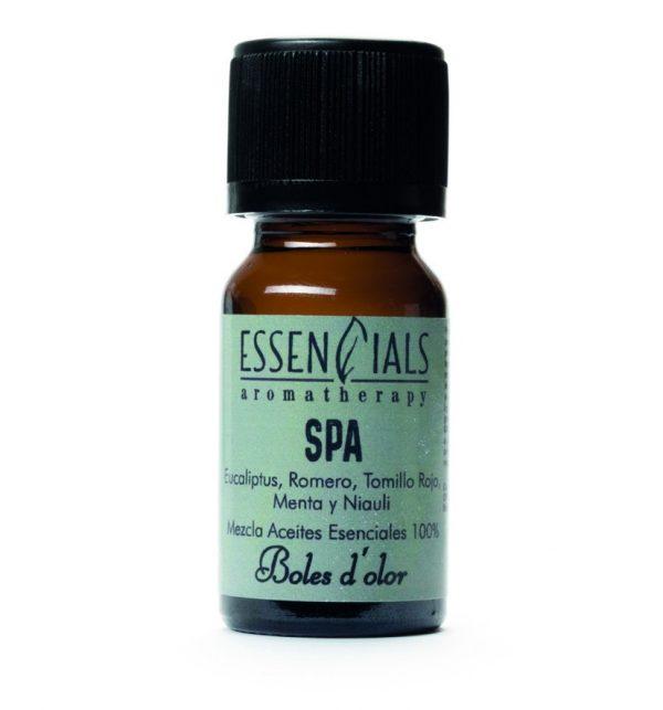 aceite esencial spa