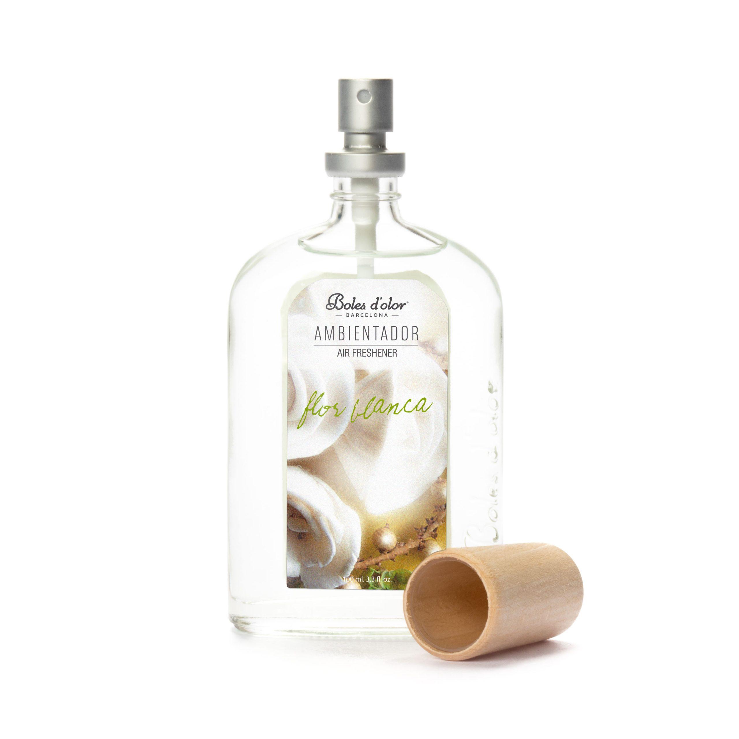 ambientador flor blanca