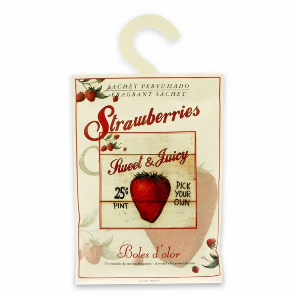 Sachet perfumado Strawberries
