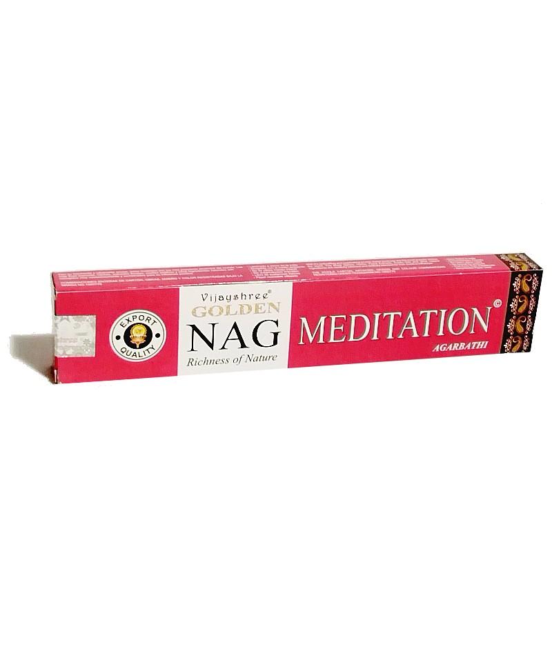 Incienso Golden Nag Meditation