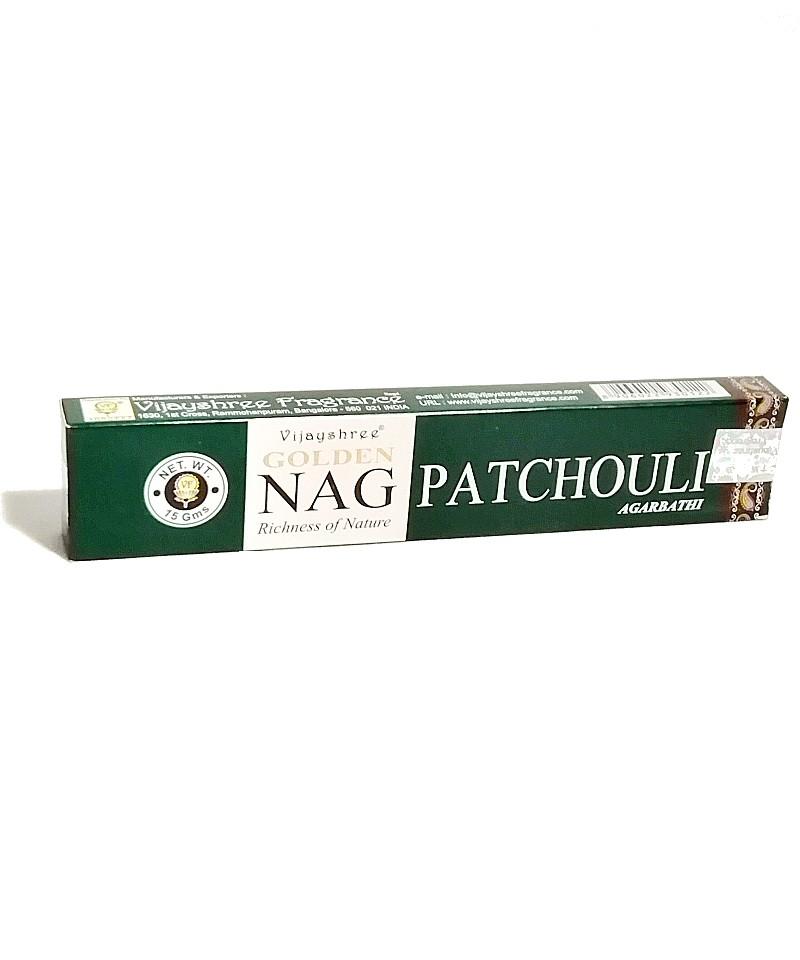 Incienso Golden Nag Patchouli