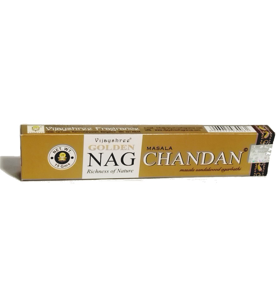 Incienso Golden Nag Chandan