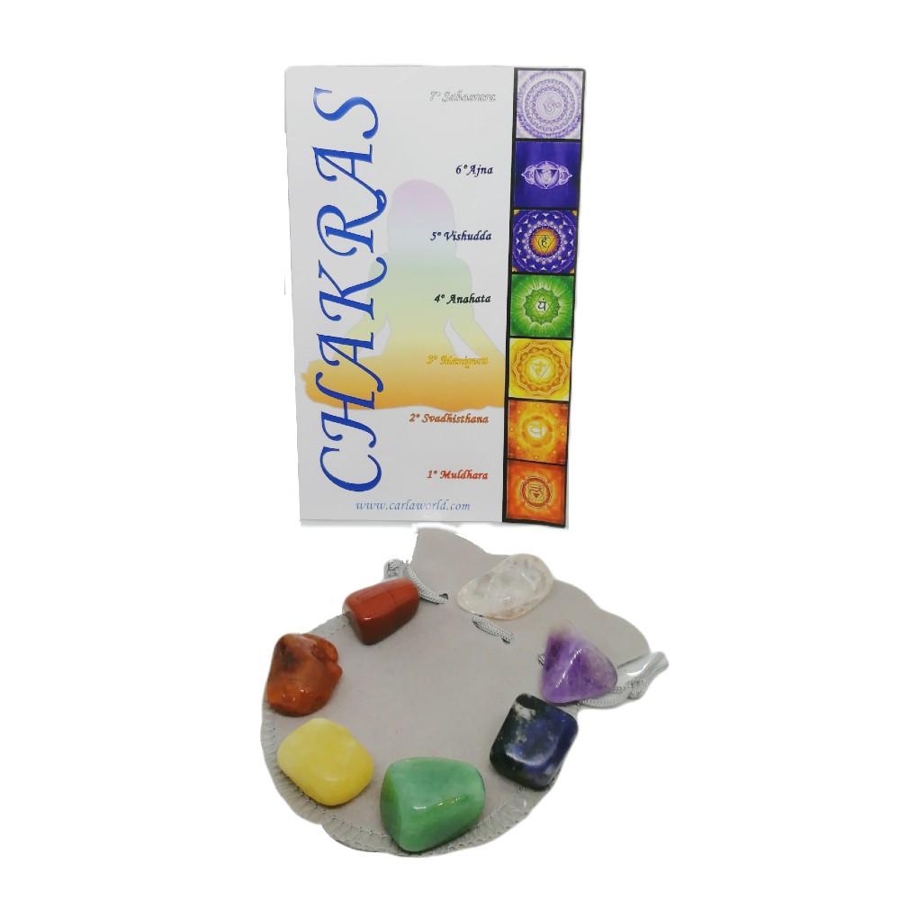 7 chakras minerales