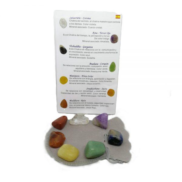 Minerales 7 chakras