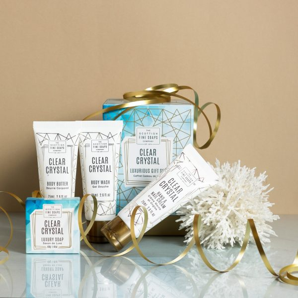 Pack Regalo Clear Crystal Scottish Fine Soaps