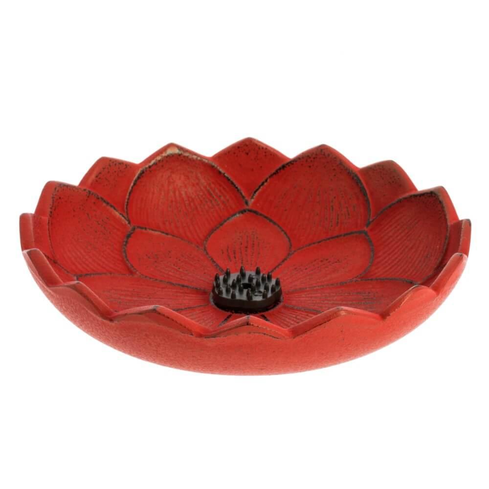 inciensario iwachu flor de loto rojo