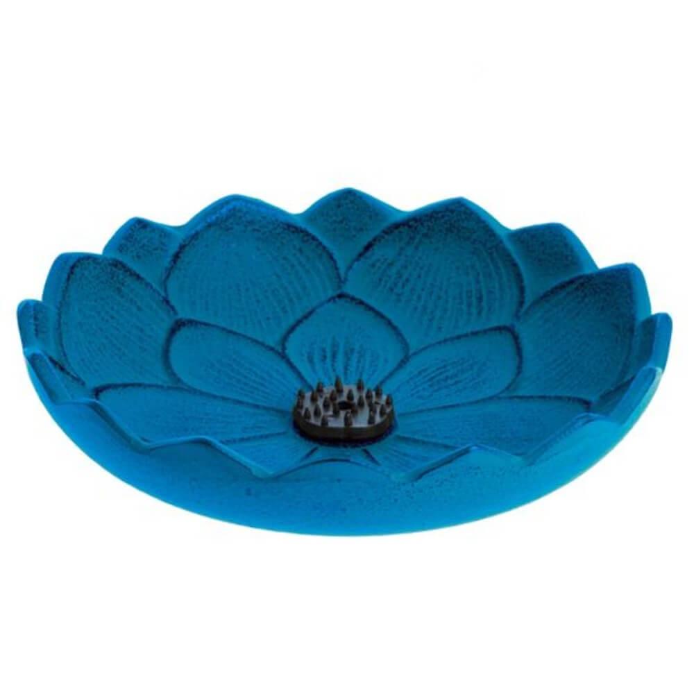 inciensario iwachu flor loto azul