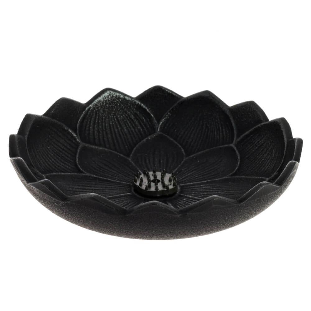 inciensario iwachu flor loto negro