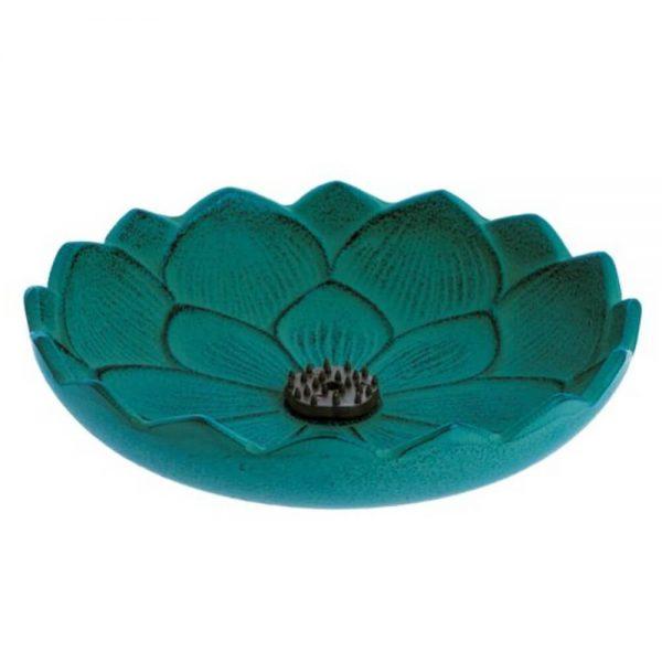 inciensario iwachu flor loto tuquesa