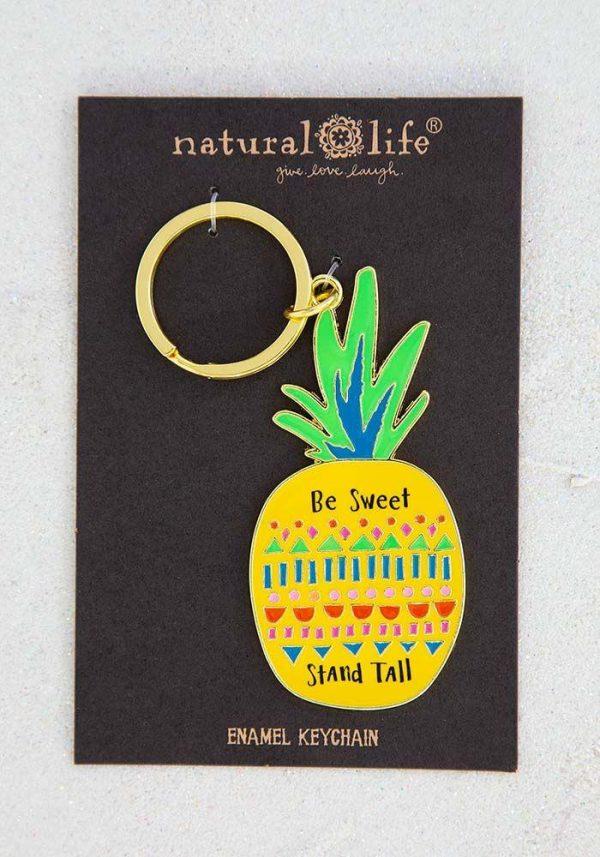 Enamel Keychain kc210 Natural Life
