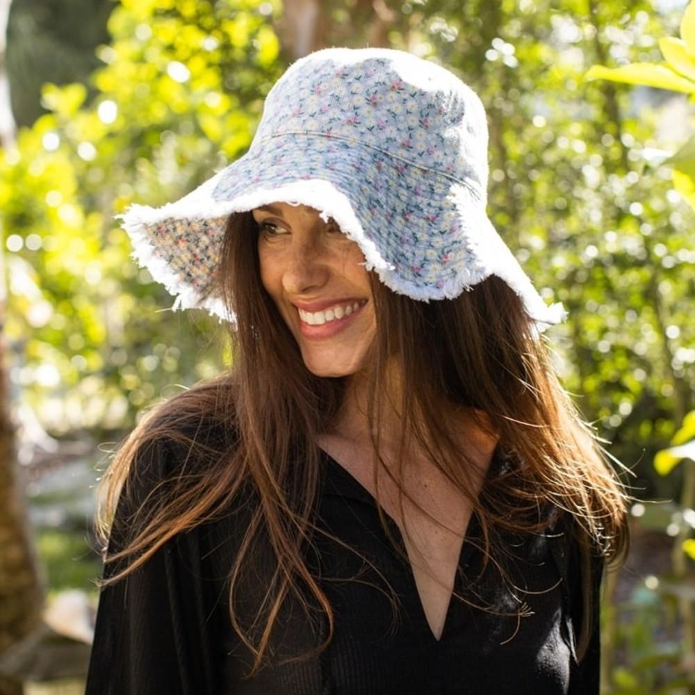 Sombrero Flores HAT082