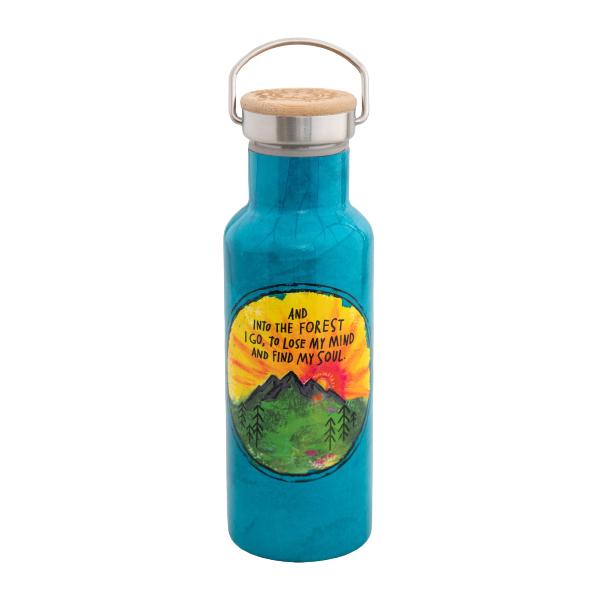 Botella termo reutilizable Forest